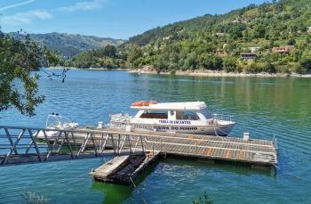 Barco Turístico de Vieira do Minho pronto para mais um verão! -