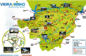 Mapa Turístico -