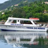 Galeria de Fotos - O Barco Turístico de Vieira do Minho retoma a sua atividade
