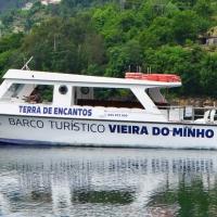 """Galeria de Fotos - Barco turístico de Vieira do Minho """"O Brancelhe"""""""