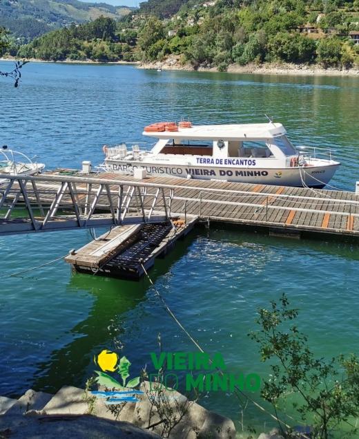 Barco Turístico de Vieira do Minho pronto para mais um verão!