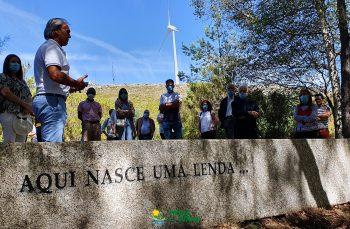 Autarcas e convidados de Vieira do Minho visitam nascente do Rio Ave -